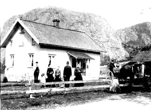 Det tidigare bostadshuset på Åseby